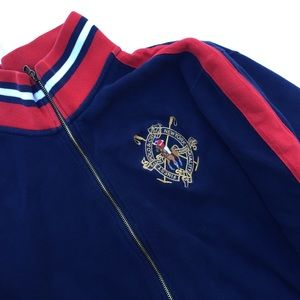 Vintage Polo Ralph Lauren Zip Up Sweater Jacket
